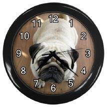 Pug Dog Decorative Wall Clock (Black) Gift model 35704400 - $19.99