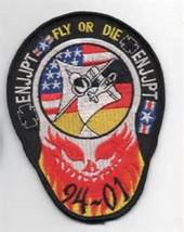 Enjjpt Fly Or Die Patch - 94-01 EURO-NATO Joint Jet Pilot Training Program Nasa - $11.87