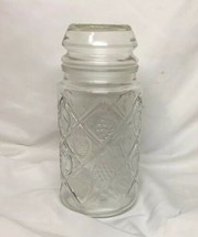 Vintage Smucker's Collectable Canister Jar With Lid by Anchor Hocking 32 Oz - $12.59