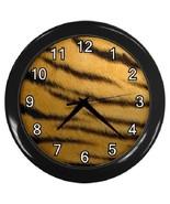 Tiger Print Decorative Wall Clock (Black) Gift model 24167825 - $19.99