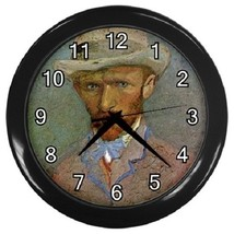 Vincent Van Gogh Self Portrait Decorative Wall Clock (Black) Gift model ... - $19.99