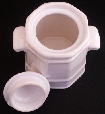 Pfaltzgraff Heritage White Sugar Bowl and Creamer Set