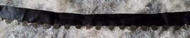 Black sash charm coin pirate gypsy belt women's junior's or costume - $9.49