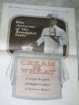 RACIST/RACIAL CREAM OF WHEAT AD VINTAGE 1919 - $24.99