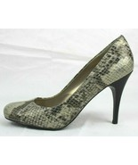 JS Jessica Simpson Oscar women's shoes heels animal print gray size 8B - $19.89