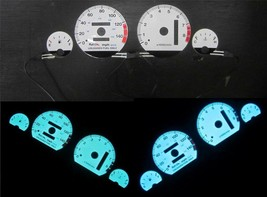 94-01 Acura Integra AT Automatic LS RS GS White Face Glow Gauges 8K Blue... - $34.64