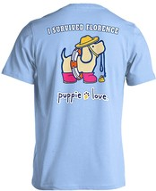 Puppie Love Rescue Dog Adult Unisex Short Sleeve Graphic T-Shirt, Florence Pup image 1