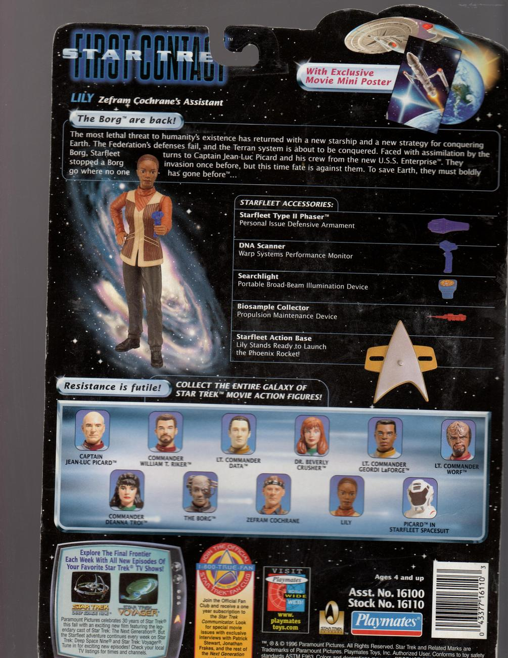 STAR TREK  First Contact-Lily