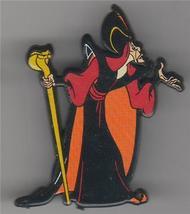 Disney Aladdin Villain Jafar Rare UK plastic Pin/Pins - $19.51
