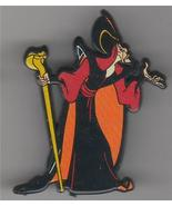 Disney Aladdin Villain Jafar Rare UK plastic Pin/Pins - $19.51