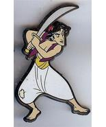 Disney Aladdin with Sword European UK Plastic Pin/pins - $19.51