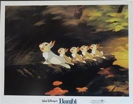 Disney Bambi Rabbits Lobby Card Walt Disney Production - $19.98