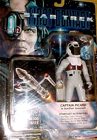 Star Trek - Captain Picard In Starfleet Spacesuit -Star Trek First Contact