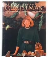 Martha Stewart's Christmas 1989 Cookbook Home Decorating Crafts Cookie R... - $8.95