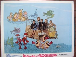 Disney Bedknobs and Broomsticks dated 1971 Lobby Card - $27.44
