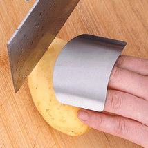 Stainless Steel Finger Guard Safe Protector Chop Helper - $5.97