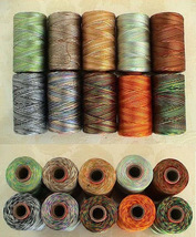 ~10 Variegated RAYON MACHINE EMBROIDERY THREAD BROTHER 4SHADED $50 value... - $16.99