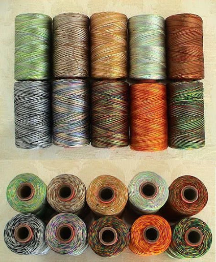 ~10 Variegated RAYON MACHINE EMBROIDERY THREAD BROTHER 4SHADED $50 value VAR4
