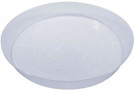 21N-S Austin Planter Saucers Translucent Polypropylene for Indoor and Ou... - $16.66