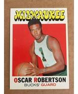 Oscar Robertson #1 Topps Rookie Basketball Card Milwaukee Bucks PLEASE READ - $14.99