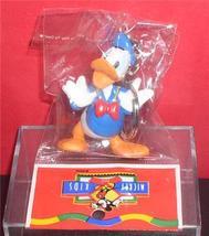 Disney Donald Duck Figurine  key chain made of PVC Mint - $15.83