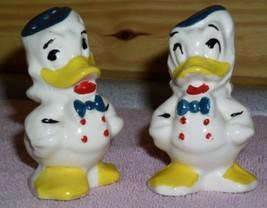 Disney Donald Duck marked Walt Disney old Salt & Pepper - $31.92