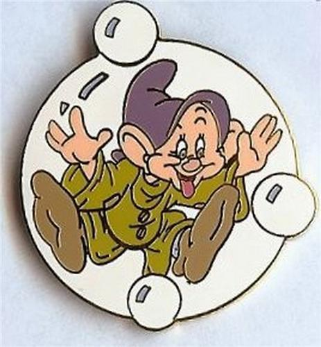 Primary image for Disney Dopey in a Soap Bubble from the movie Snow White  pin/pins