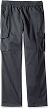 The Children's Place Big Boys' Pull on Cargo Pants, Gray Steel 3231, 16H - $19.29