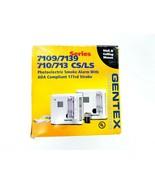 Gentex 7109LS Photoelectric Smoke AlarmWall and Ceiling Mount CS/LS 177... - $74.79