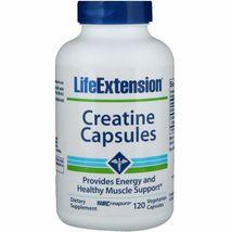 Life Extension Creatine Capsules, 120 Vegetarian Capsules - $16.99
