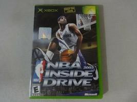 NBA Inside Drive 2002 Original Microsoft Xbox Game Complete Free Ship - $10.93