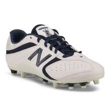 New balance lightweight performance Cleats white navy size 8 - $42.74