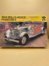 Italeri Testors 1934 Rolls Royce Phantom II 1/24 - New Open Box - Plasti... - $24.70