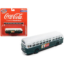 GMC TDH-3610 Transit Bus (Chicago) Coca Cola Green with White Top 1/87 (... - $39.48