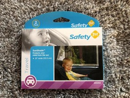 Safety First Baby Car Seat On Board Sunshade Protection 2 Pk Window Viny... - $9.79