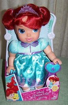 "Disney Princess Baby ARIEL 11.5"" Doll with pacifier New - $27.88"
