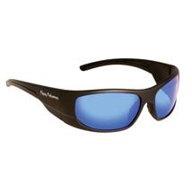 Fly Fish Cape Horn Sunglasses Mt Black/Smk Blue Mirror - $28.83