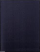 3 yds Ultrafabrics Upholstery Faux Leather Brisa Navy Blue BZ - $51.30