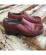 Timberland Leather  Slip On Casual Comfort Shoes Women's 8 M.  #13354. N... - $14.85