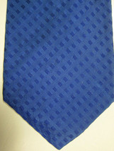 GORGEOUS $125 Robert Talbott Blue with Blue Squares Handmade Silk Tie - $22.49
