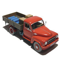 Red Truck from the Black Island Tintin cars Editions Atlas 1/43