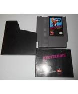VINTAGE ORIGINAL NINTENDO NES EXCITEBIKE RACING VIDEO GAME & MANUAL - $23.38