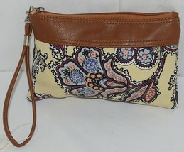 Howards Brand  Womens Zipper Clutch With Detachable Carrying Strap image 2