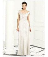 Mother of the Bride / Bridesmaid Dress 6667..Ivory...Size 00L - $49.50