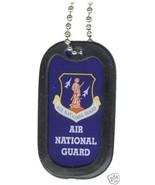 USAF AIR FORCE AIR NATIONAL GUARD  ENGRAVABLE DOG TAG - $18.04
