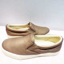 Lauren Ralph Lauren Cedar Women Sneakers, Perlized Matte Met, Platino US... - $39.25