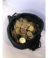Mixed Bulk Of 200+ International Coins - $18.32