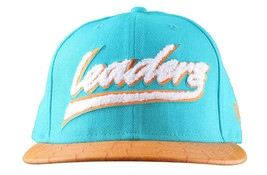 Leaders1354 Chicago New Era Varsity Teal/Orange Strapback Baseball Hat Cap Miami