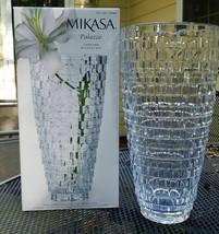 "Mikasa Palazzo 12"" Crystal Vase - Brand New & Open Box - $32.66"