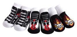 Jazzy Toes Rock'n Sox-Boys-Gift Set-3 Pair-Size 0-12 Months-So Cool! - $16.99